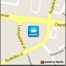 lokacija parkinga / Vrbani Zagreb