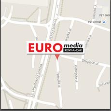 lokacija ureda / Trpanjska ulica, Staglišće, Zagreb