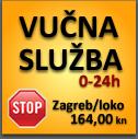 Vučna služba Euro Media - radno vrijeme 0-24h